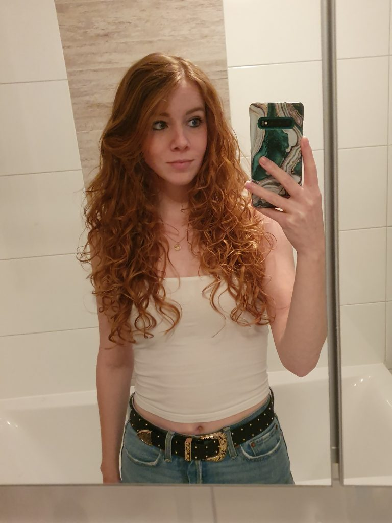 curly girl methode resultaat