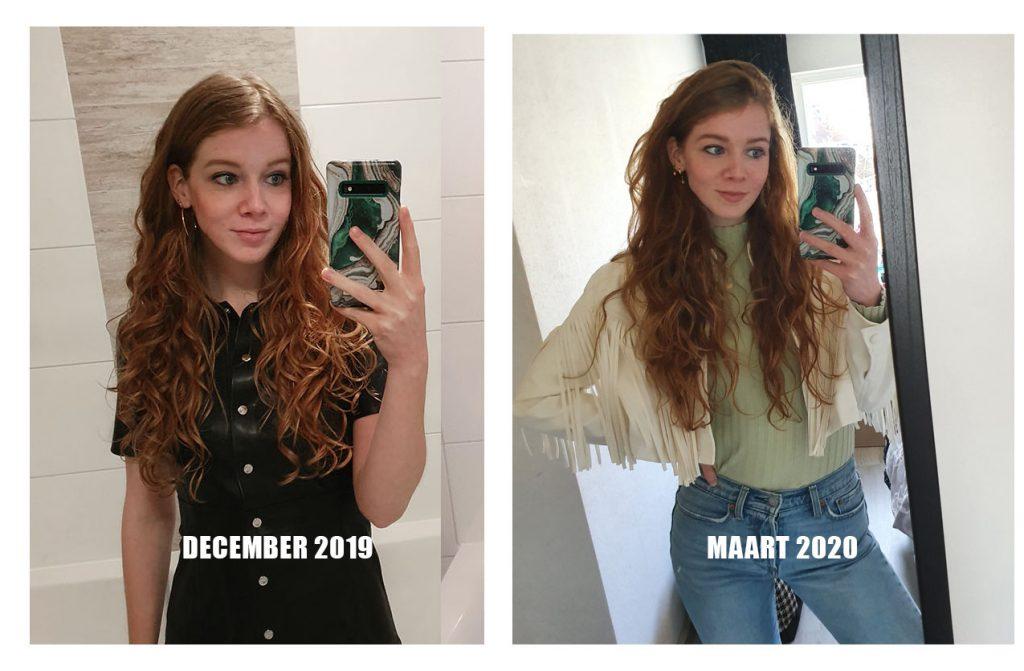 curly girl resultaten