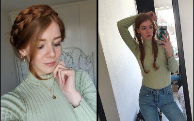 Haarstijlen voor als je curly girl haar niet zo curly meer is (en je nu niet naar de kapper kunt)