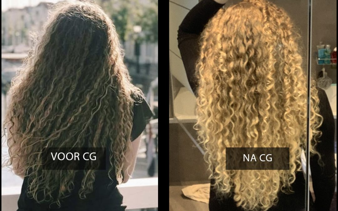 Curly Girl Moreen over haar haarroutine en de cg methode