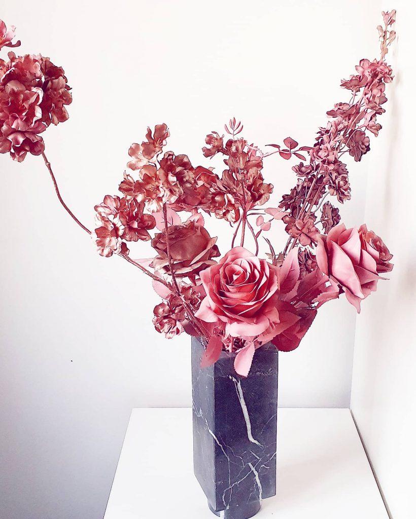 kunstbloemen verven