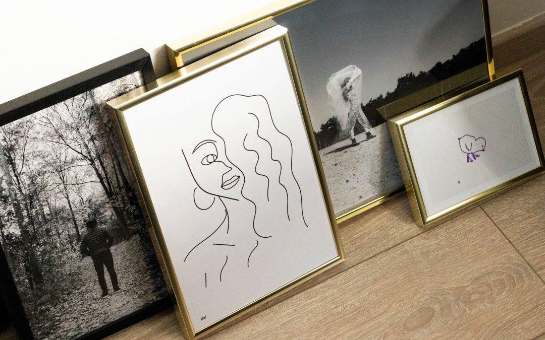 persoonlijke gallery wall