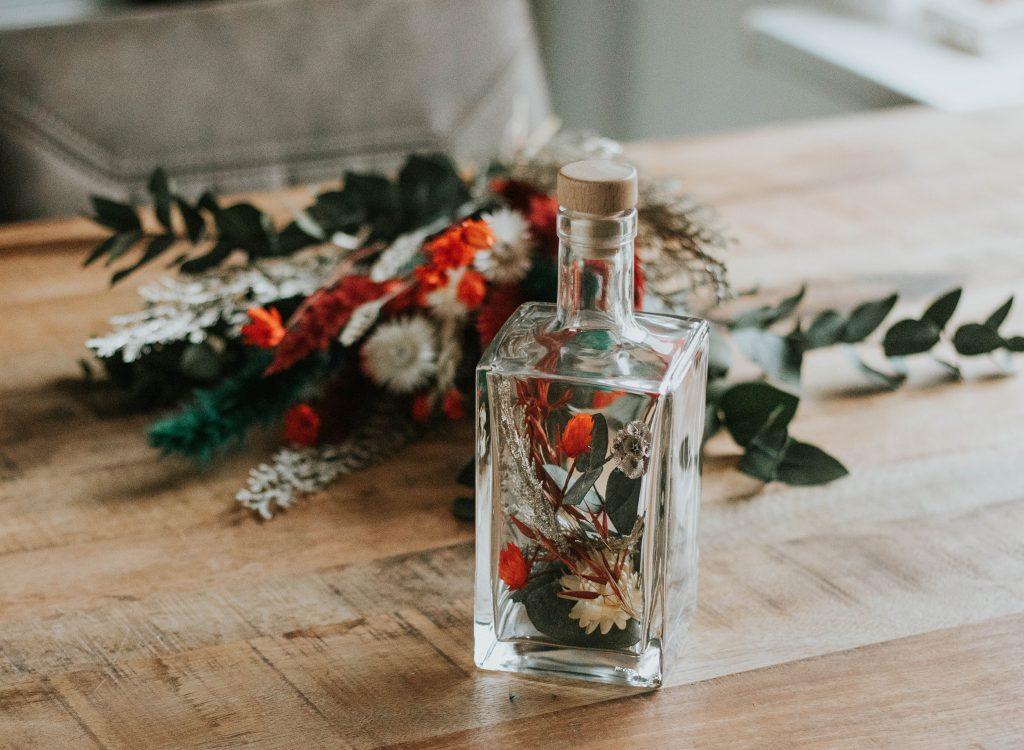 kerst droogbloemen