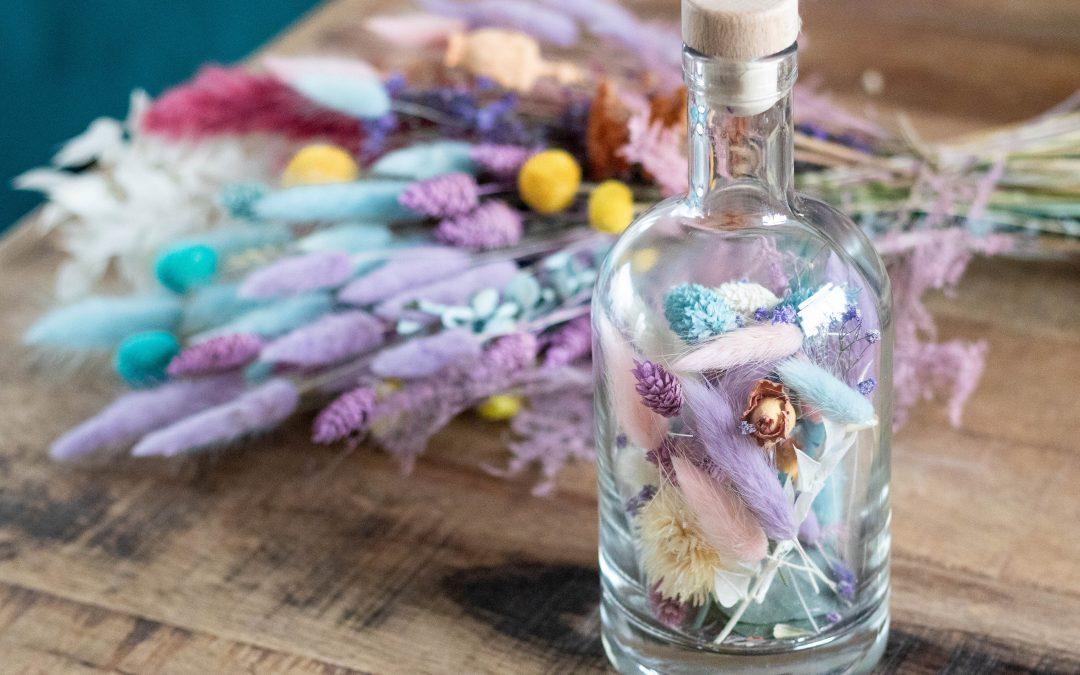 Pastel droogbloemen: nieuw op TIFM Shop!