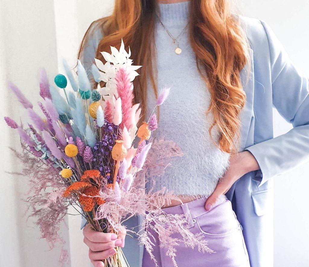 droogbloemen pastel