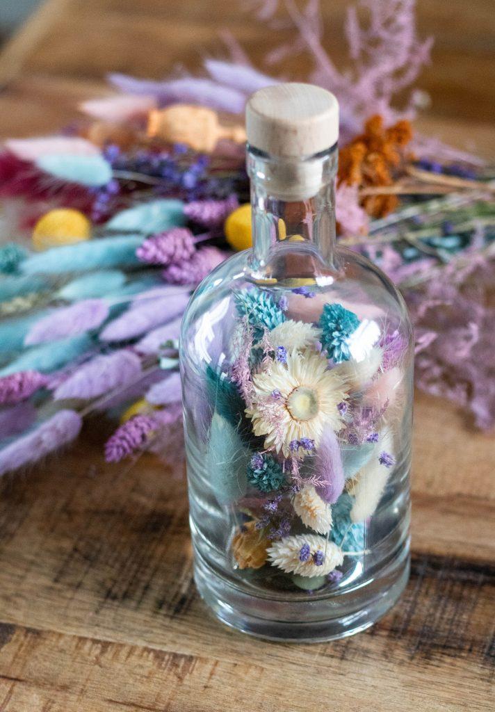 pastel droogbloemen