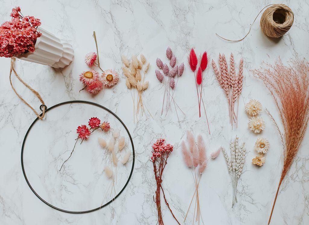 droogbloemen kleurenpallet